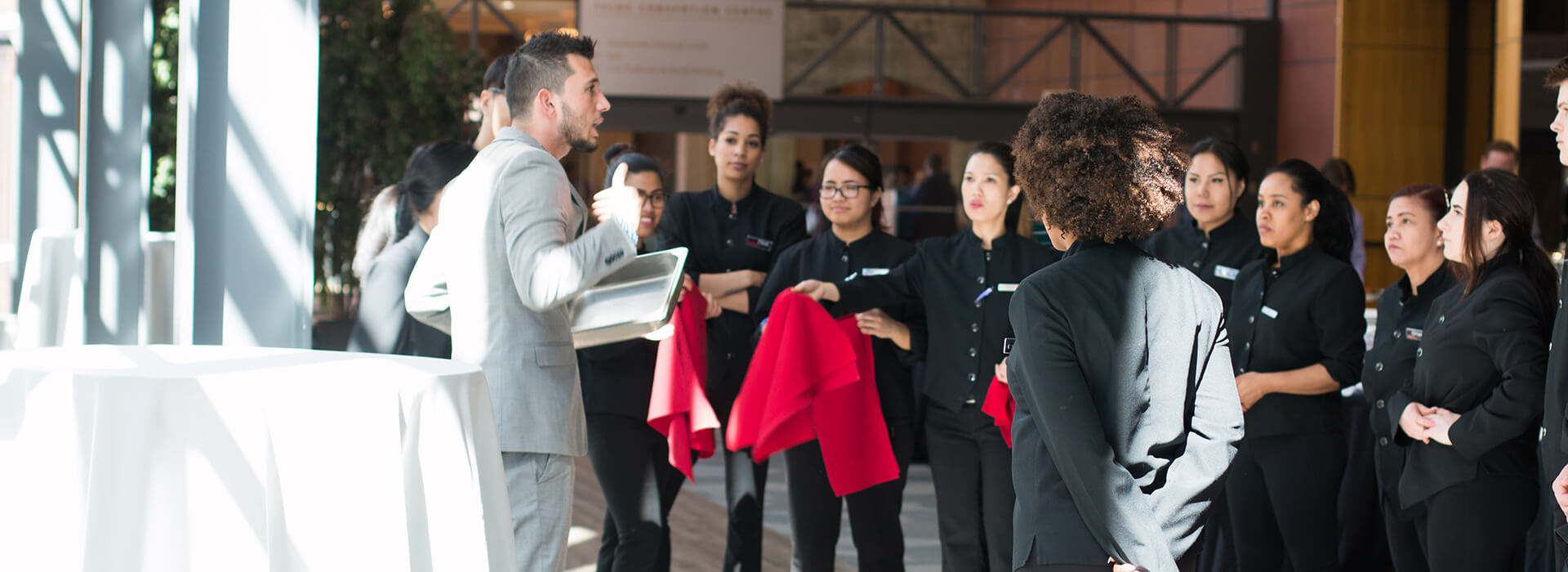 Calgary TELUS Convention Centre b2b brand case study hero image